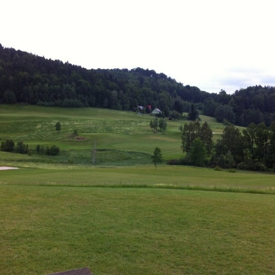 Photo taken at Ypsilon Golf Resort Liberec by Petr K. on 6/14/2012
