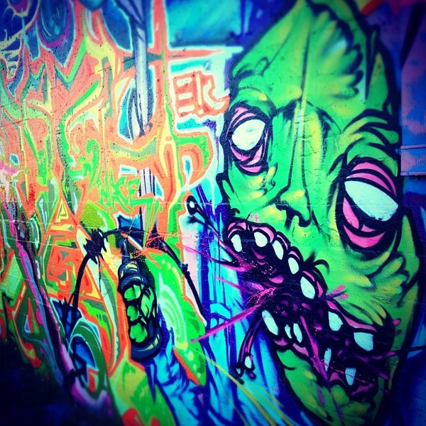 Photo taken at Graffiti Art by Sean N. on 11/1/2011