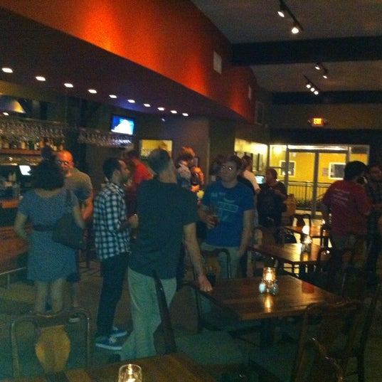 Photo taken at 5 Seasons Brewing by Brandon W. on 9/27/2011