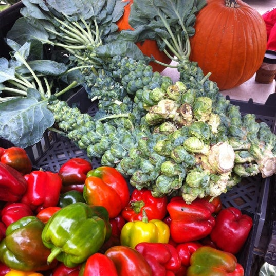 Photo taken at Dane County Farmers' Market by Amanda P. on 10/15/2011