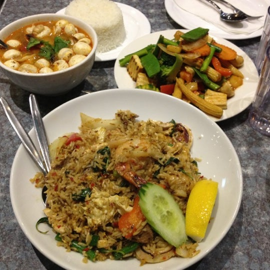 Photo taken at Taste of Thai by Zarina Z. on 6/6/2012