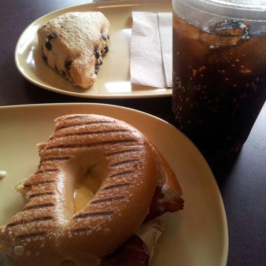 Photo taken at Panera Bread by Nasheen S. on 8/11/2012