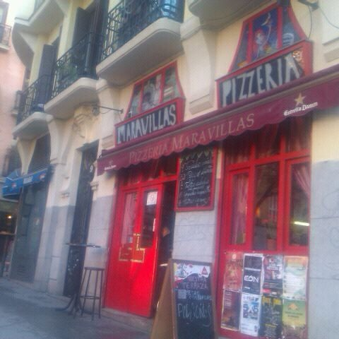 Photo taken at Plaza del Dos de Mayo by Mireia I. on 1/22/2012