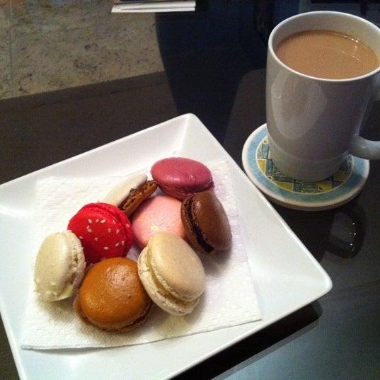 Photo taken at La Maison du Macaron by Benji H. on 9/3/2011