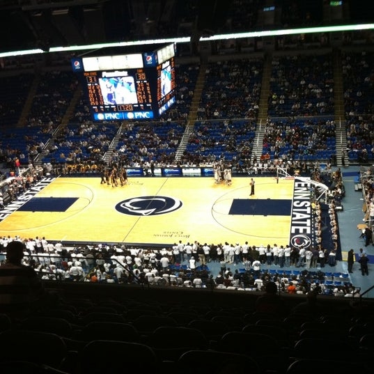 Photo taken at Bryce Jordan Center by Tim T. on 1/27/2011