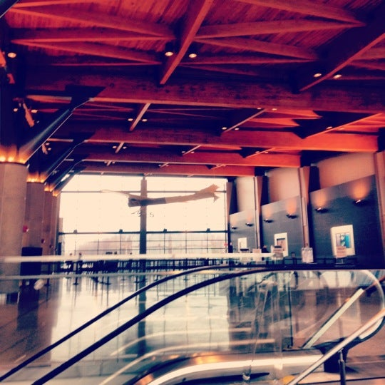 Photo taken at Portland International Jetport (PWM) by Jacob B. on 3/16/2012
