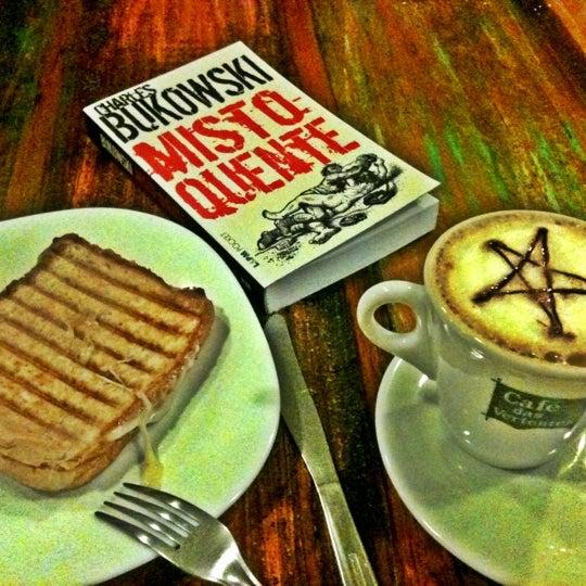 Photo taken at Café Book by Paulo Leonardo C. on 3/29/2012