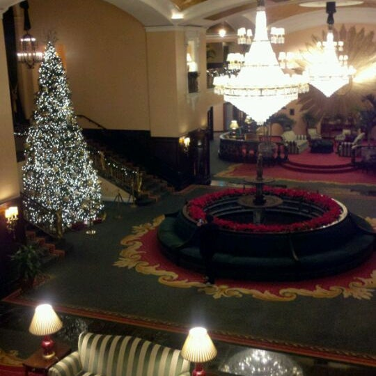 Photo taken at Amway Grand Plaza Hotel by Michael E. on 12/16/2011