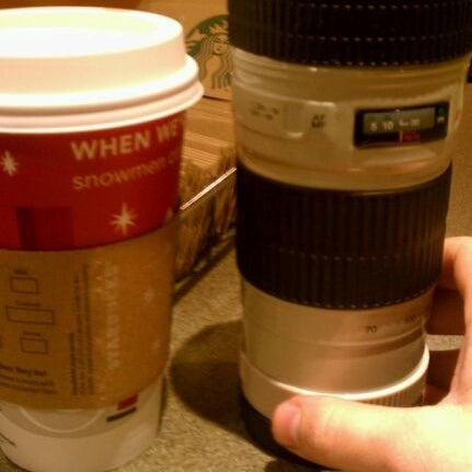 Photo taken at Starbucks by Marcin O. on 11/22/2011