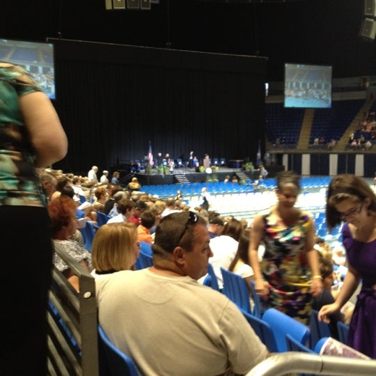 Photo taken at Bryce Jordan Center by Douglas K. on 6/9/2012