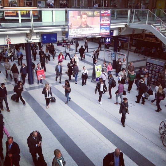 Photo taken at London Liverpool Street Railway Station (LST) by Jennifer H. on 6/21/2012