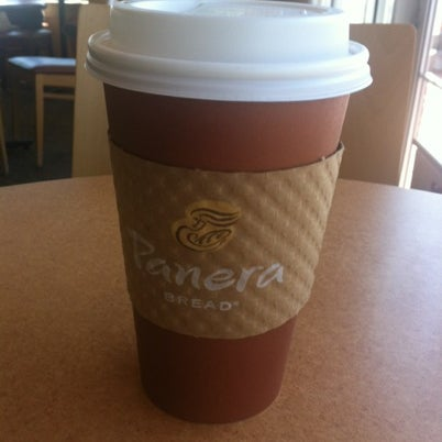Photo taken at Panera Bread by Anahi C. on 8/4/2012