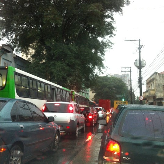Photo taken at Rua Clélia by Eduardo C. on 6/5/2012