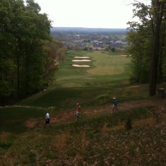 Photo taken at Raspberry Falls Golf & Hunt Club by Claudia M. on 4/15/2012
