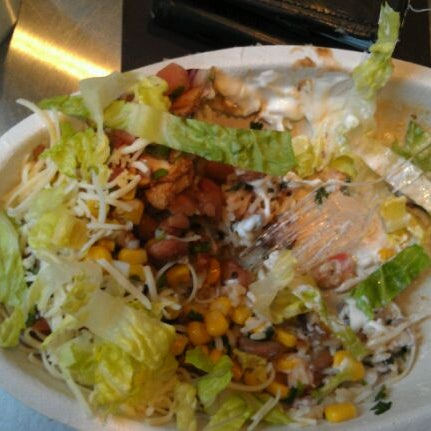 Photo taken at Chipotle Mexican Grill by Drew G. on 3/6/2012
