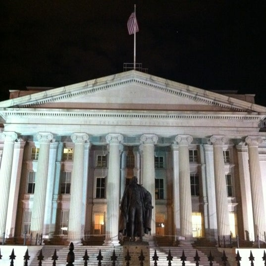 Photo taken at US Department of the Treasury by Brad E. on 1/28/2012