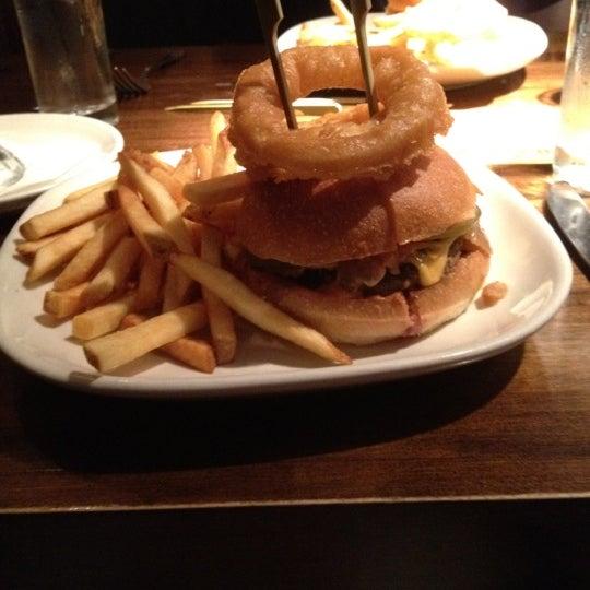Photo taken at B & B Winepub (Burger & Barrel) by Emily G. on 7/27/2012