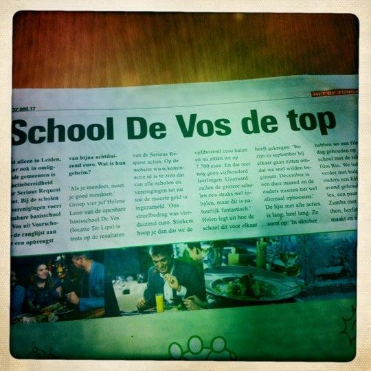 Photo taken at OBS de Vos by Femke H. on 12/20/2011