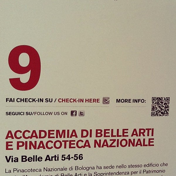 Photo taken at Accademia delle Belle Arti by Enrico G. on 1/28/2012