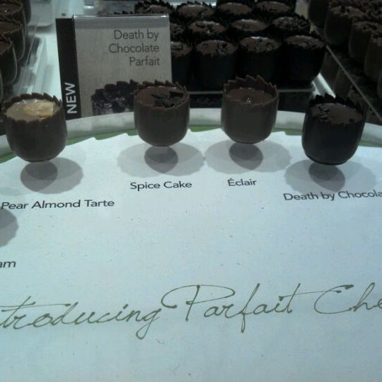 Photo taken at Godiva Chocolatier by Cassie P. on 11/13/2011