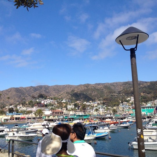 Photo taken at Santa Catalina Island by Steven Y. on 7/4/2012