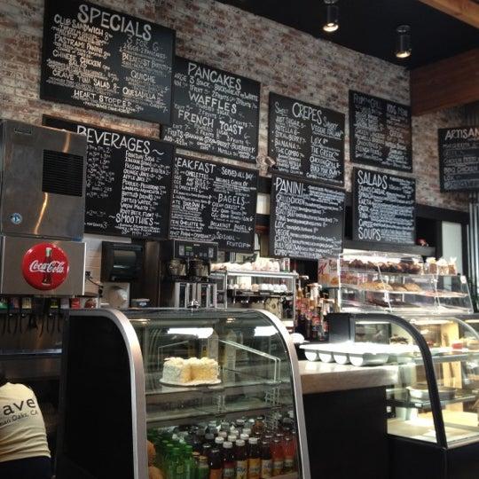 Crave Cafe Sherman Oaks Menu