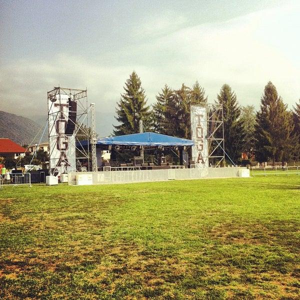 Photo taken at Parco Ragazzi del '99 by Antonio F. on 9/7/2012