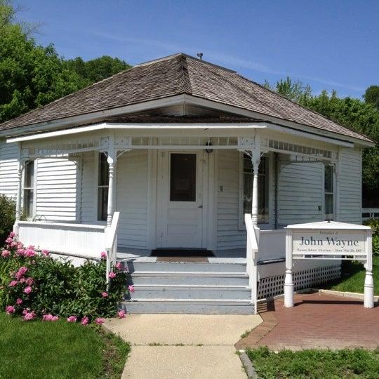 Photo taken at John Wayne Birthplace Museum by Craig W. on 5/6/2012