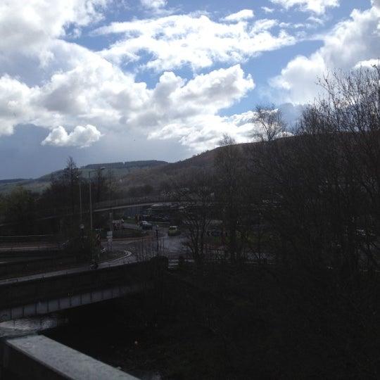 In Abercynon Rhondda Cynon Taf: Journey To Work