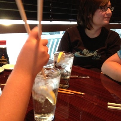 Photo taken at Sushi On The Rocks by Theresa C. on 7/29/2012