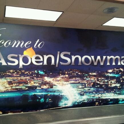 Photo taken at Aspen - Pitkin County Airport (ASE) by Miche M. on 1/25/2012