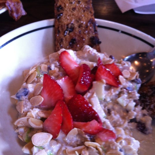 Try the berry Swiss oatmeal... It's the best!!