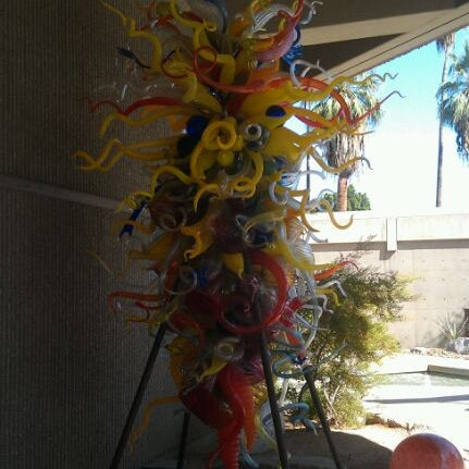 Photo taken at Palm Springs Art Museum by Rob G. on 10/16/2011
