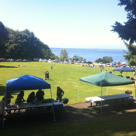 Photo taken at Carkeek Park by Billy A. on 8/11/2012
