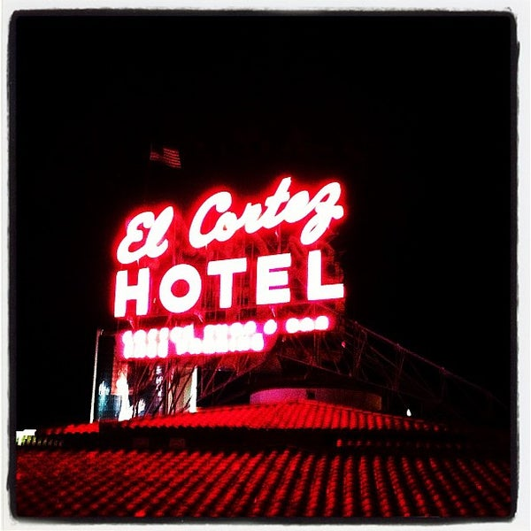 Photo taken at El Cortez Hotel & Casino by Jay A. on 9/10/2012