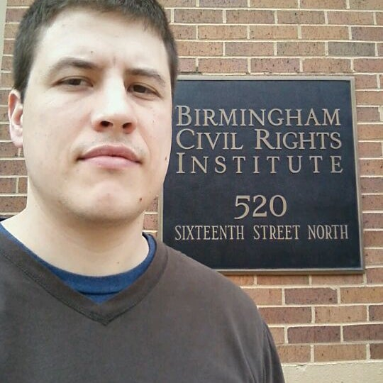 Photo taken at Birmingham Civil Rights Institute by Rudy B. on 3/11/2012