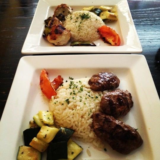 Photo taken at Hanci Turkish Cuisine by Hồng Loan on 4/6/2012