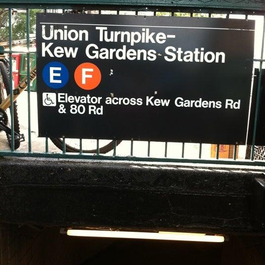 Mta Subway Union Tpke Kew Gardens E F Forest Hills Kew Gardens Ny