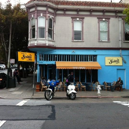 Cafe Du Soleil  Fillmore St San Francisco Ca