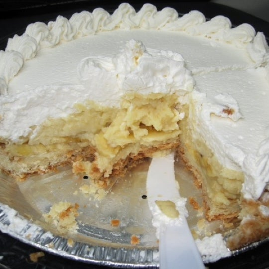 The Banana Cream Pie is the BEST!! You will not be disappointed.