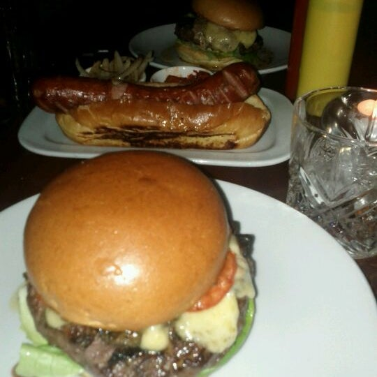 Photo taken at Hawksmoor Seven Dials by Amin on 3/13/2012