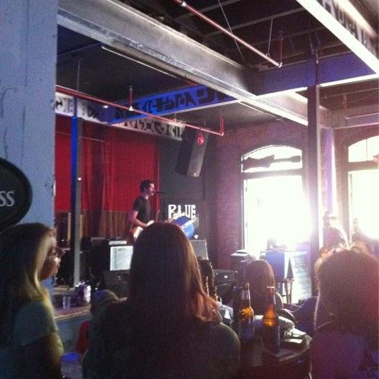 Photo taken at Blue Moon by Melissa B. on 3/17/2012