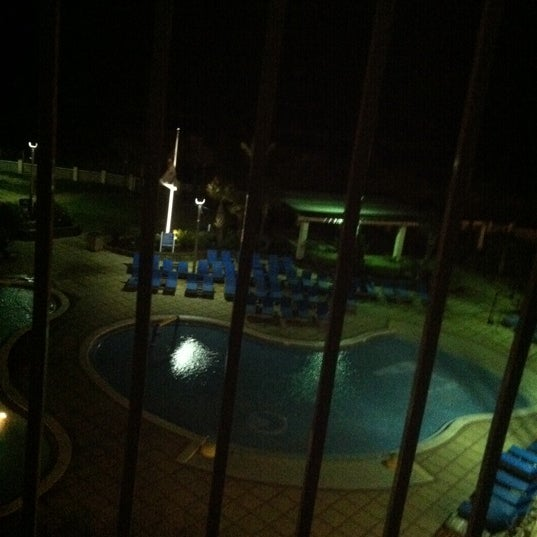 Photo taken at Hilton Pensacola Beach by BethAnn on 7/21/2012