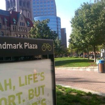 Photo taken at Landmark Plaza by Dan J. on 8/21/2012