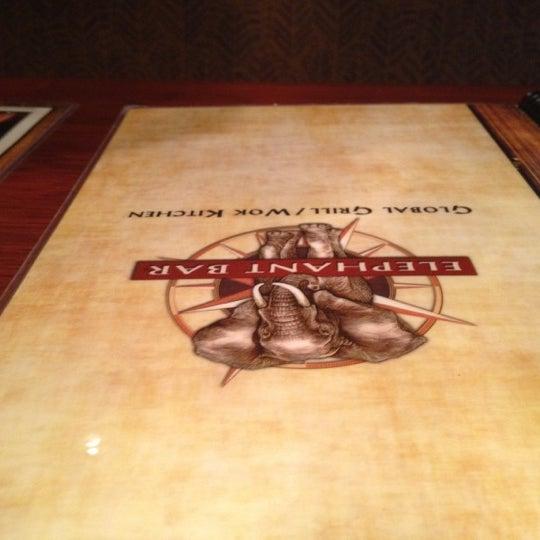 Photo taken at Elephant Bar Restaurant by Jermaine W. on 6/2/2012