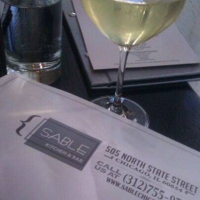 Photo taken at Sable Kitchen & Bar by Kate G. on 9/12/2012