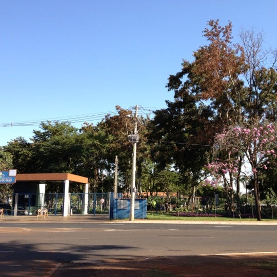 Photo taken at Parque Ecológico Maurilio Biagi by Andre N. on 7/25/2012