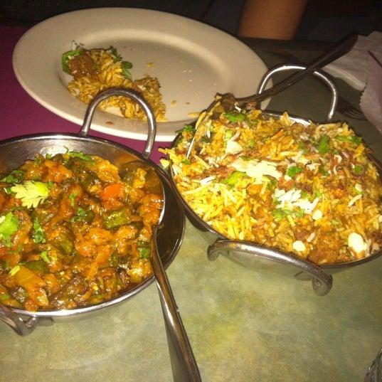Bhindi masala and goat biriyani both good.