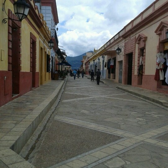 Photo taken at Andador Real de Guadalupe by Giselita A. on 7/3/2012
