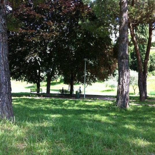 Photo taken at Parco Ragazzi del '99 by Chiara Pozzi P. on 6/5/2012